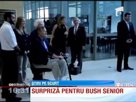 Surpriza pentru George Bush Senior
