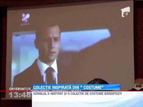 """Serialul """"Suits"""", difuzat la Euforia TV, a inspirat o colectie de costume barbatesti"""