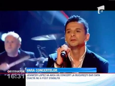 Vara concertelor tari: Jennifer Lopez si Depeche Mode, printre artistii care vor canta in Romania