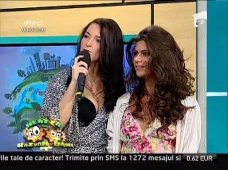 """VIDEO: Bijou, super sexy la Neatza! Uite ce tinuta """"cuminte"""" a ales!"""