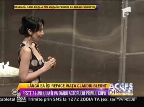 Iubita lui Claudiu Bleont, rol de femeie agresata