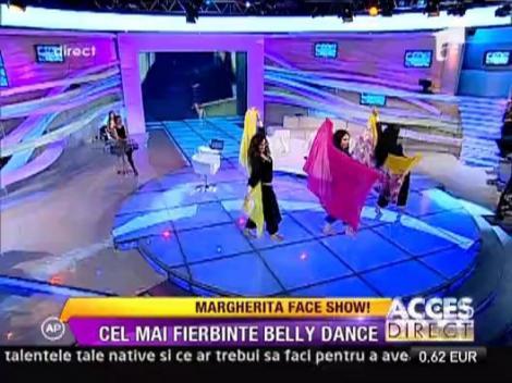 Margherita, dans fierbinte din buric