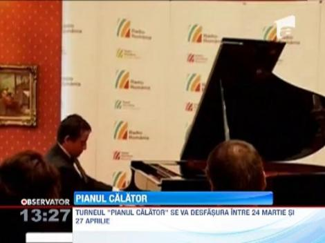 "Turneul ""Pianul calator"" porneste in al treilea voiaj prin tara si Republica Moldova!"
