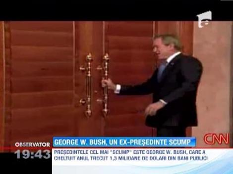 George W. Bush, cel mai scump presedinte