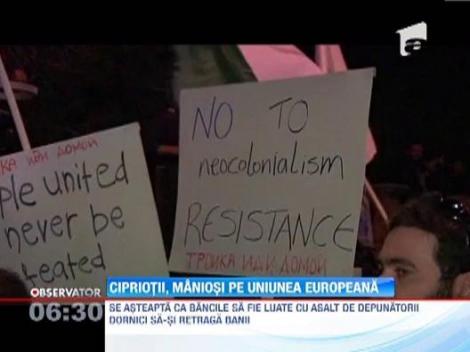 Bancile din Cipru se redeschid dupa o intrerupere de 12 zile