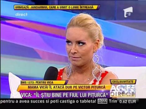 "Vica Blochina, despre procesul de paternitate cu Piturca: ""As fi de acord sa avem custodie comuna"""