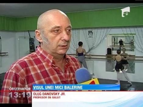 Visul unei mici balerine