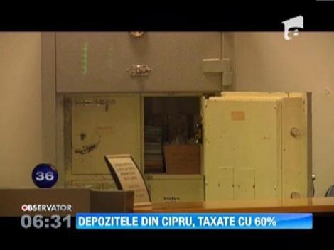 Depozitele mari la cea mai importanta banca din Cipru ar putea fi taxate cu 60 la sut