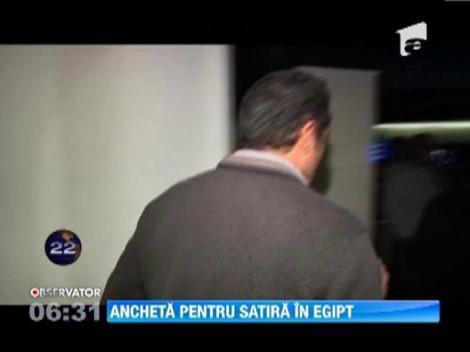 Parchetul din Egipt a cerut arestarea unui celebru moderator de televiziune, pentru insulte la adresa presedintelui Mohamed Morsi