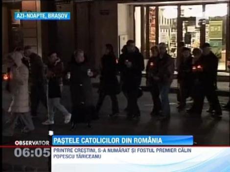 Pastele catolic a fost sarbatorit si de mii de crestini din Romania