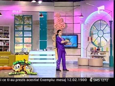 Orlando Oprescu, numar special de circ