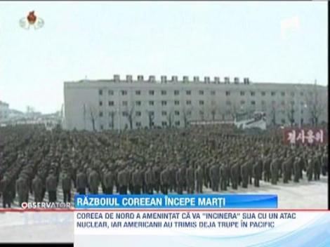 Phenianul a recomandat Rusiei si Marii Britanii sa evacueze ambasadele din Coreea de Nord