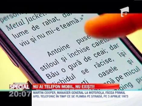 Observator Special | Nu ai telefon mobil, nu existi!