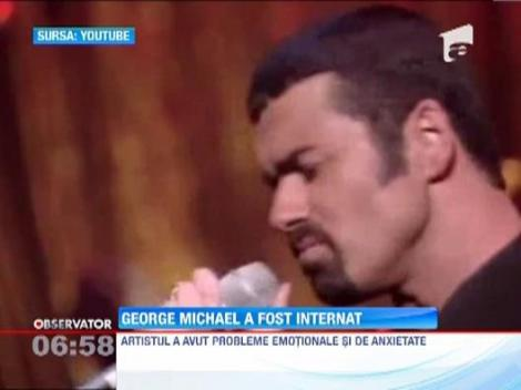 George Michael a ajuns din nou la spital