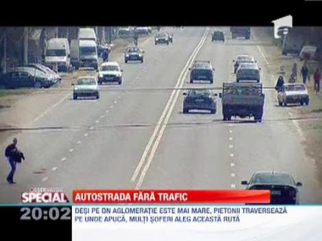 Autostrada fara trafic