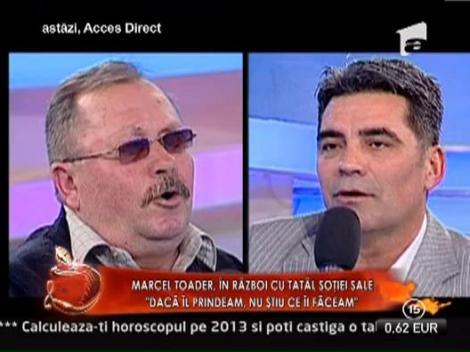 """Marcel Toader, in razboi cu tatal Gabrielei Cristea: """"Daca te prindeam, nu stiu ce iti faceam!"""""""