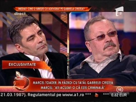 "Tatal Gabrielei Cristea: ""Mama fostului iubit a vrut sa o omoare pe Gabriela!"""