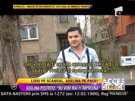 """Adelina Pestritu: """"Eu si Liviu Varciu nu vom mai fi impreuna"""""""