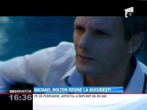 Michael Bolton revine la Bucuresti. Ce pretentii are artistul