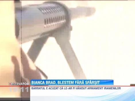 Bianca Brad se teme ca nu-l va mai vedea pe tatal copilului ei