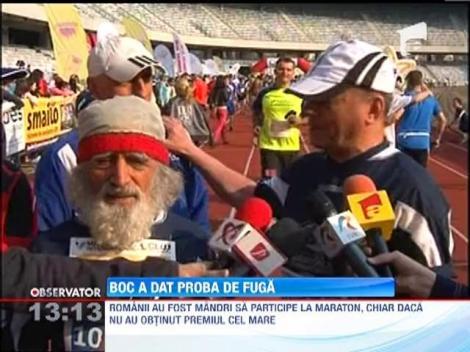Emil Boc a alergat in cadrul Maratonului de la Cluj