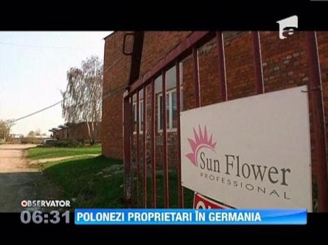 Tot mai multi locuitori prosperi din Polonia devin proprietari in Germania