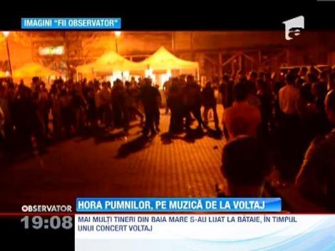 UPDATE! Bataie cu pumni si picioare in timpul unui concert la Baia Mare
