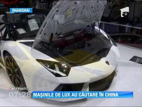 Masini de lux, expuse la Salonul automobilistic de la Shanghai