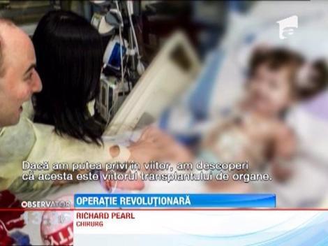 Medicii din SUA i-au recreat traheea unei fetite din Coreea de sud