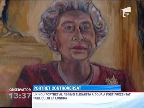 Britanicii, nemultumiti de noul portret al Reginei Elisabeta a II-a