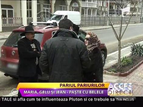 Maria Carneci, Gelu Voicu si Jean Paler, Paste cu belele