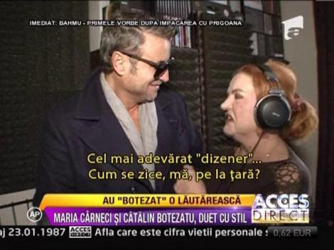 Catalin Botezatu si Maria Carneci, pregatiri de duet!