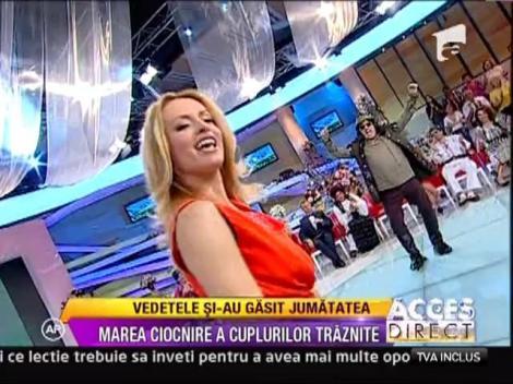 "Simona Gherghe canta ""Cai verzi pe pereti"""