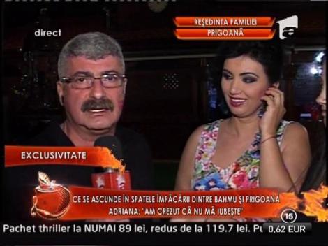 Silviu Prigoana i-a cumparat un inel de diamant Adrianei Bahmuteanu