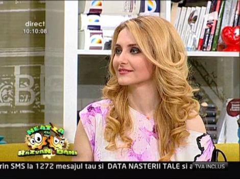 Alina Sorescu a petrecut Pastele la tara