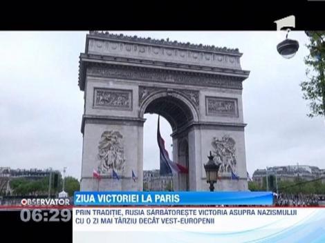 La Paris, s-au comemorat 68 de ani de la victoria asupra fascismului