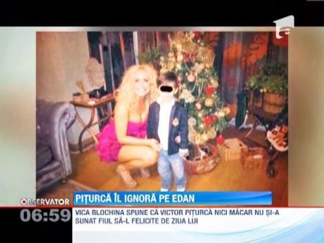 Victor Piturca a fentat ziua de nastere a micutului Edan