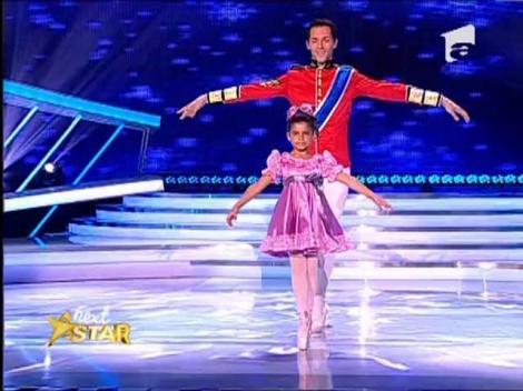 Mariuca Iordache a emotionat juriul de la Next Star! E o adevarata balerina