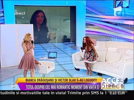 Bianca Dragusanu si Victor Slav s-au logodit!