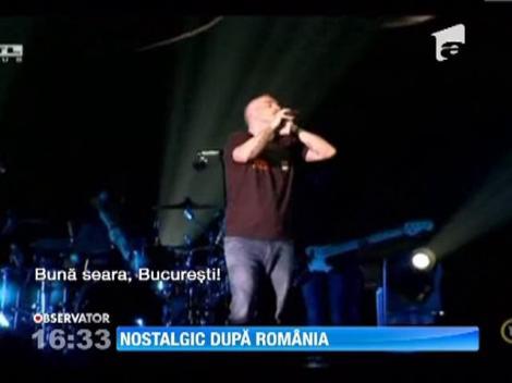 Gafa in timpul unui concert! Eros Ramazzotti a confundat Budapesta cu Bucurestiul!