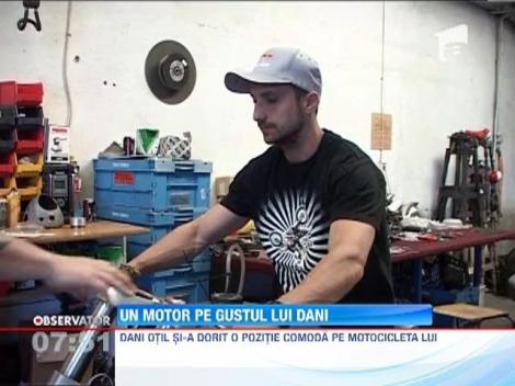 Dani Otil se va plimba cu o motocicleta facuta special pentru el