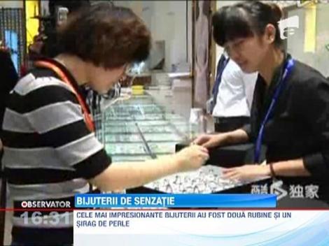 Expozitie de bijuterii la Shanghai