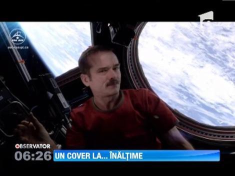 """Melodia """"Space Oddity"""" a lui David Bowie a ajuns in spatiu!"""