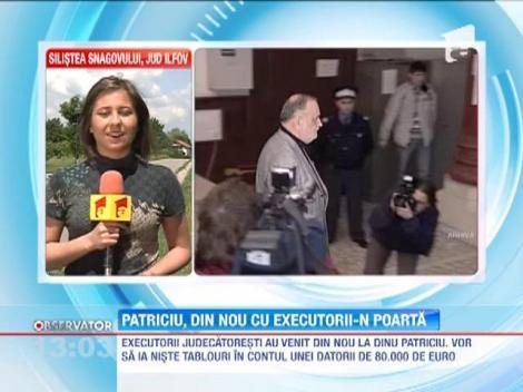 Tablourile lui Dinu Patriciu, ridicate de executorii judecatoresti