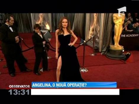 Angelina Jolie se pregateste pentru o noua operatie, cea de indepartare a ovarelor