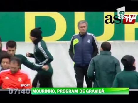Jose Mourinho, program de gravida la Real