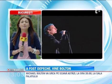 Michael Bolton va concerta, in aceasta seara, la Sala Palatului din Capitala