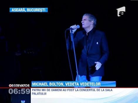 Michael Bolton, spectacol senzational la Sala Palatului