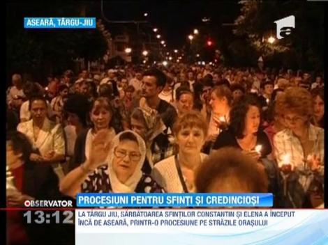 Update / Crestinii ortodocsi ii praznuiesc astazi pe Sfintii Imparati Constantin si Elena