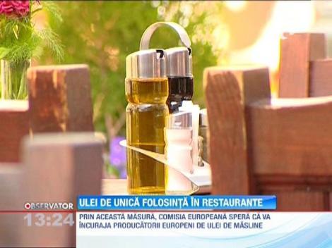 GATA cu olivierele murdare din restaurante! Comisia Europeana vrea recipiente de unica folosinta
